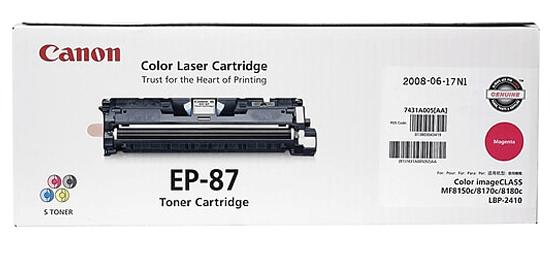 Mực in Laser màu Canon EP 87M Magenta