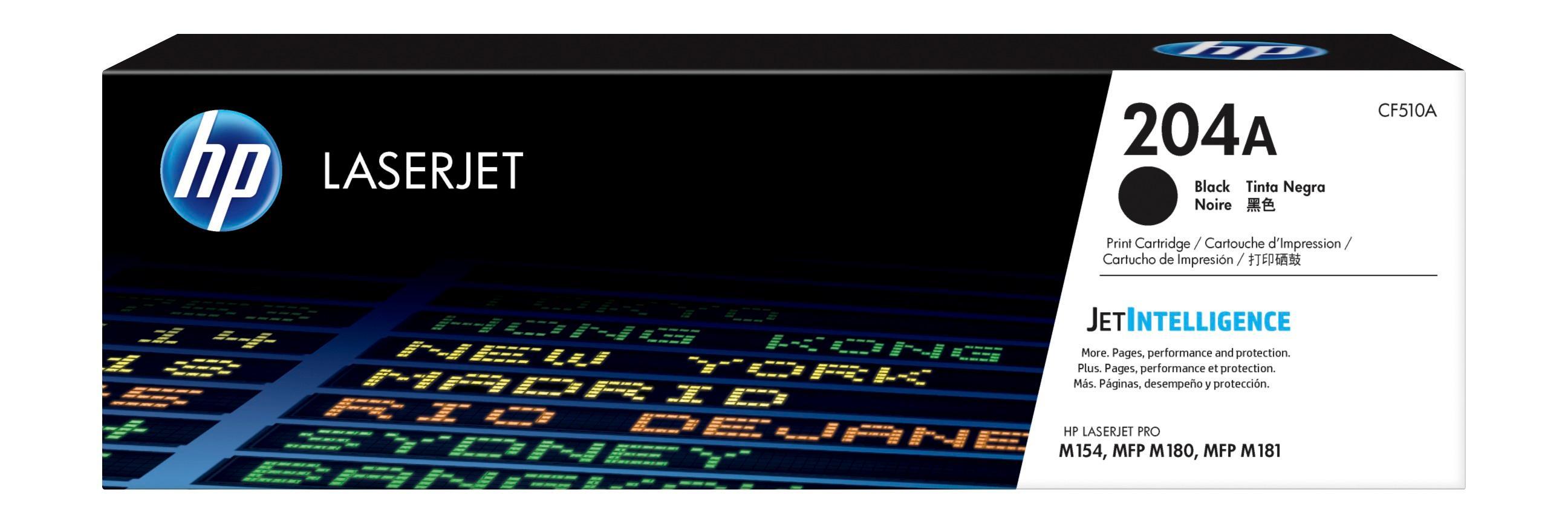 Mực in Laser màu HP 204A Black (CF510A)