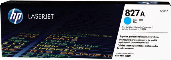 Mực in Laser màu HP 827A Cyan (CF301A)