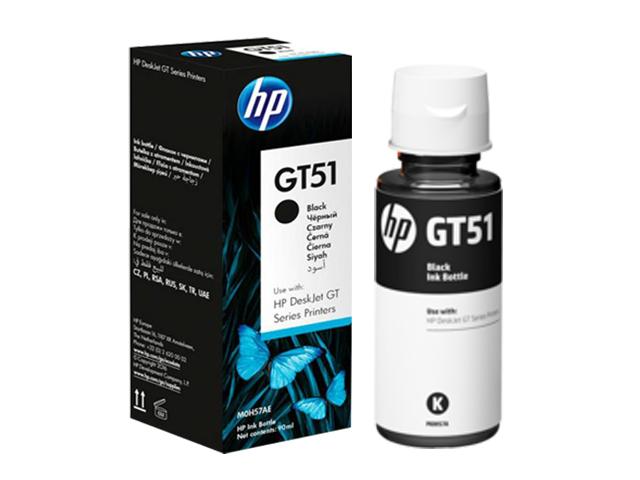 Mực in Phun màu HP GT51 Black (M0H57AA)
